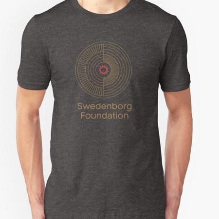 Grey t-shirt with Swedenborg Foundation logo