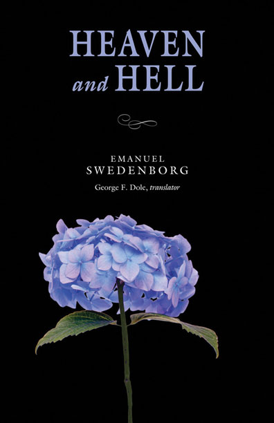 Cover of the portable paperback version of Heaven and Hell by Emanuel Swedenborg.