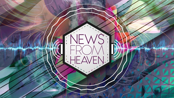 """The logo for """"News from Heaven"""" series"""